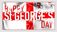 st. george's day, st george day, saint george Pos Twitter template