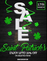 St. Patrick's, Saint Patrick's Sale Flyer