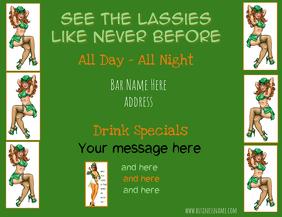 St. Patrick's Bar Flyer