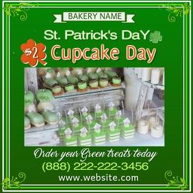 St. Patrick's Cupcake Sale Video