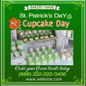 St. Patrick's Cupcake Sale Video