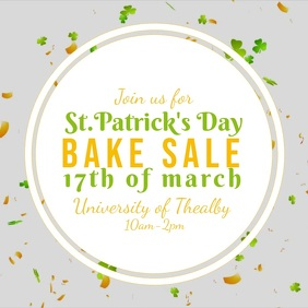 St. Patrick's Day Bake Sale video