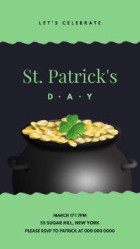 St. Patrick's Day Celebration Instagram Story