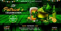 St. Patrick's Day Facebook ads Umkhangiso we-Facebook template