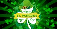 St. Patrick's Day Facebook Advert Umkhangiso we-Facebook template