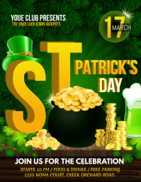 St. Patrick's Day Flyer, Saint Patrick Party