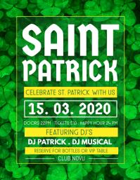 St. Patrick's Day Flyer, Saint Patrick Party