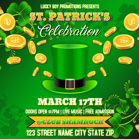 ST. PATRICK'S DAY FLYER TEMPLATE Albumcover