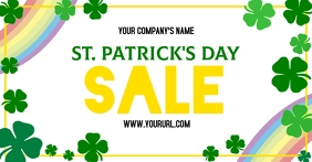 St. Patrick's Day Sale Facebook Shared Image template