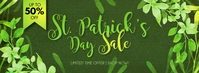 St. Patrick's Day Sale Facebook Cover template