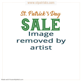 St. Patrick's Day Sale Instagram Post