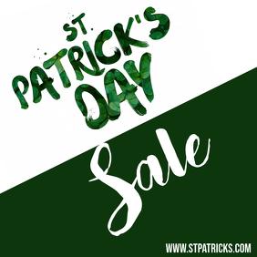 St. Patrick's Day Sale Instagram Post