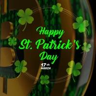 St. Patrick's Day Wish Publicación de Instagram template
