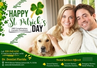 St. Patrick's Dental Ads A4 template
