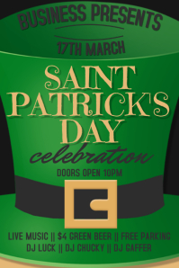 St. Patrick's Event Poster Template