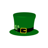 St. Patrick's Logo Cap template