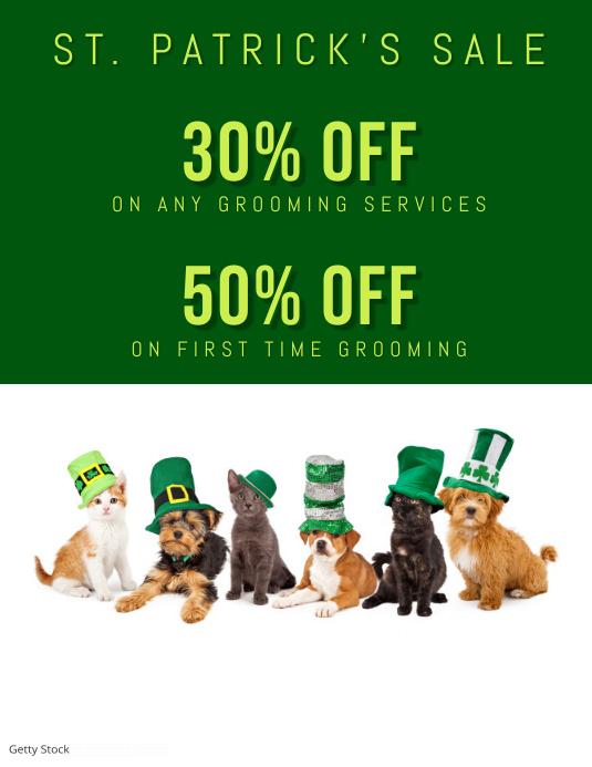 St. Patrick's Sale