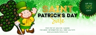 St. Patrick Day Sale Facebook Cover template