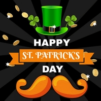 St. Patricks day Сообщение Instagram template