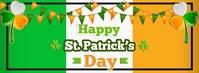 St. Patricks fb Facebook-omslagfoto template