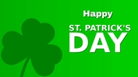 st.patrick's day Pantalla Digital (16:9) template