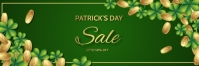 St.Patrick.Patricks, event, party แบนเนอร์ 2' × 6' template