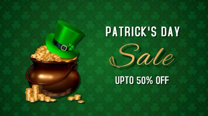 St.Patrick.Patricks, event, party Pantalla Digital (16:9) template