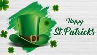 St.Patricks, event, party Blog overskrift template