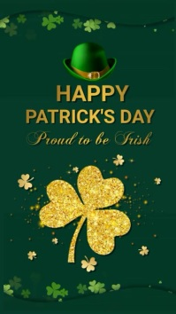 St.Patricks, event, party WhatsApp 状态 template
