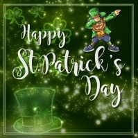 St.Patricks, event, sale, party Instagram Post template