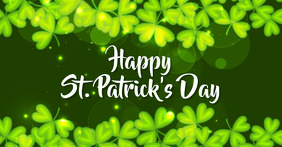 st.patricks Facebook Shared Image template