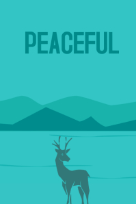 Poster Peaceful