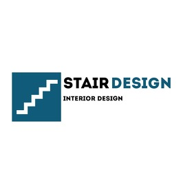 stair design geometric logo