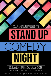 Stand Up Comedy Poster