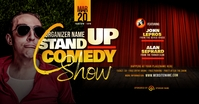 Stand Up Comedy Show Facebook Shared Image template