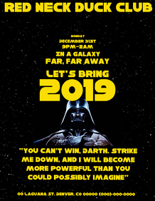 Star Wars NEW YEAR EVE