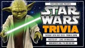Star Wars Trivia Facebook Cover template
