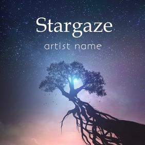 Stargaze album art template
