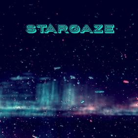 STARGAZE Album Art Capa de álbum template
