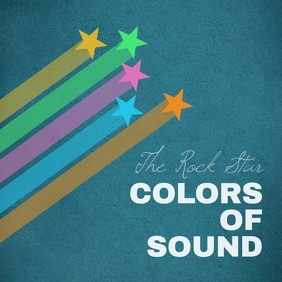 Stars and colors rock album cover