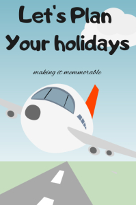 Let's plan your holidays