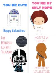Starwars Valentines!