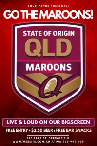 State Of Origin Poster