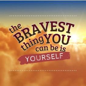 Stay Brave Inspirational Animation