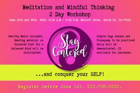 Stay Centered Work Life Balance Meditation