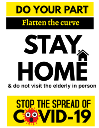 Stay Home Campaign for Covid-19
