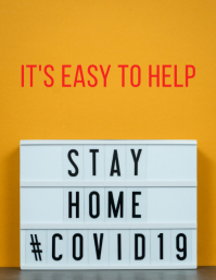 Stay Home Easy to help Flyer