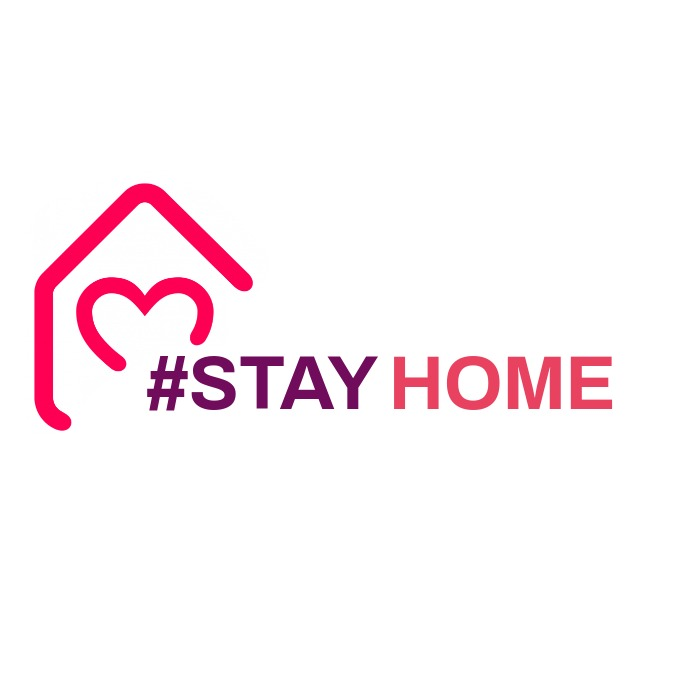 stay home logo