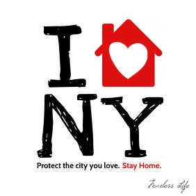 Stay Home New York City Stop Covid Instagram
