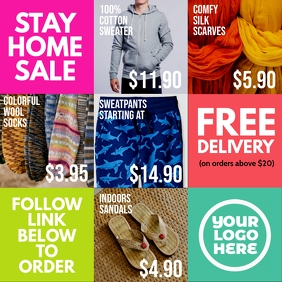 stay home sale fashion house products mosaic